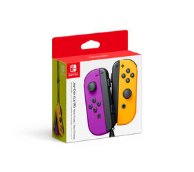 Joy-Con (L)/(R) - Neon Purple/Neon Orange