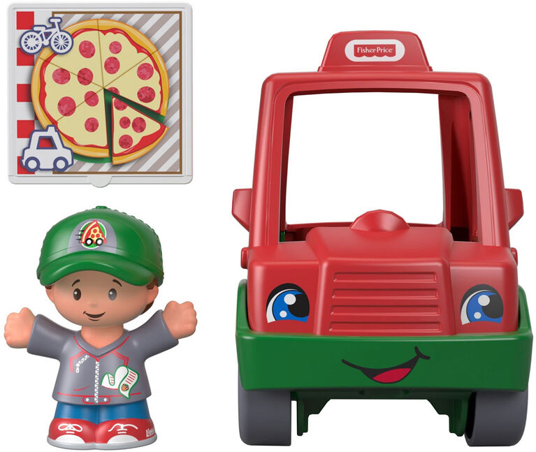 Fisher -Price Little People Have a Slice Pizza Delivery Car
