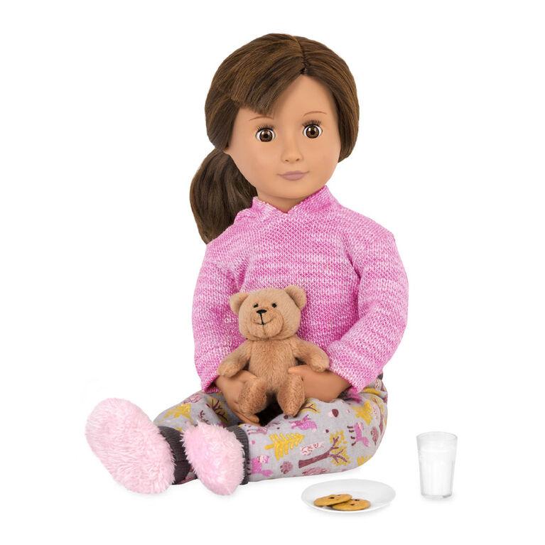 Bear Hugs, Our Generation, Pyjama avec ourson en peluche pour poupées de 18po