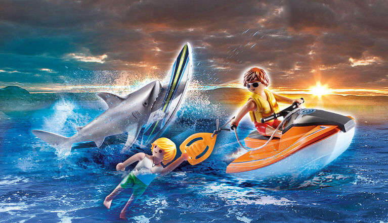 Sauvetage d'attaque de requin - Playmobil