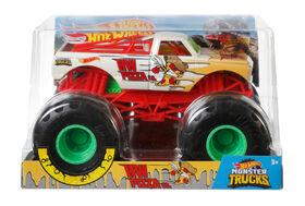 Hot Wheels - Monster Trucks - Véhicule Hot Wheels Pizza Co.