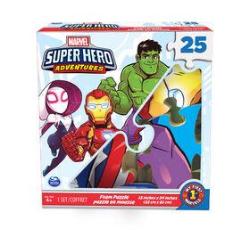 Marvel Superhero Adventures 25-Piece Foam Puzzle