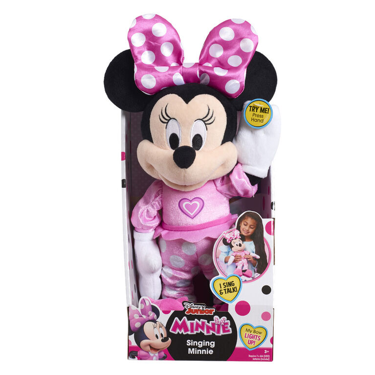 Minnie Mouse Happy Helpers Singing Plush - R Exclusive