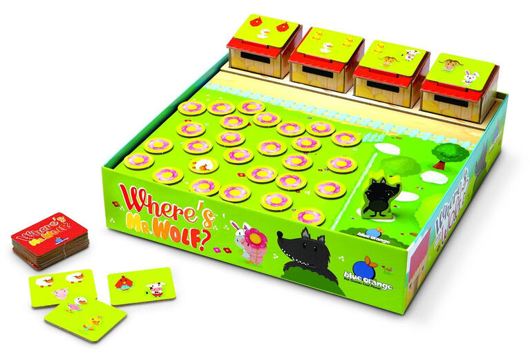Where's Mr Wolf Memory Game