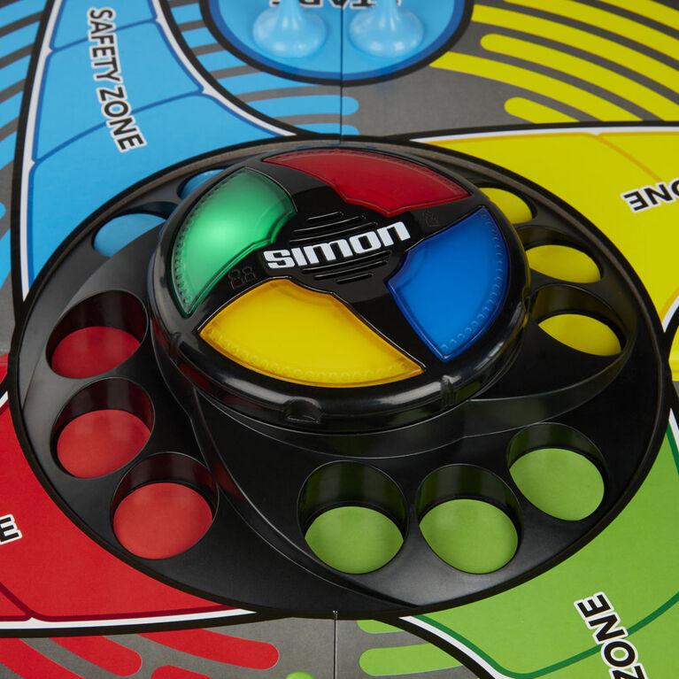 Deux grands jeux réunis, Simon et Sorry!, pour enfants, combinaison d'éléments de 2 jeux classiques - Édition anglaise - Notre exclusivité