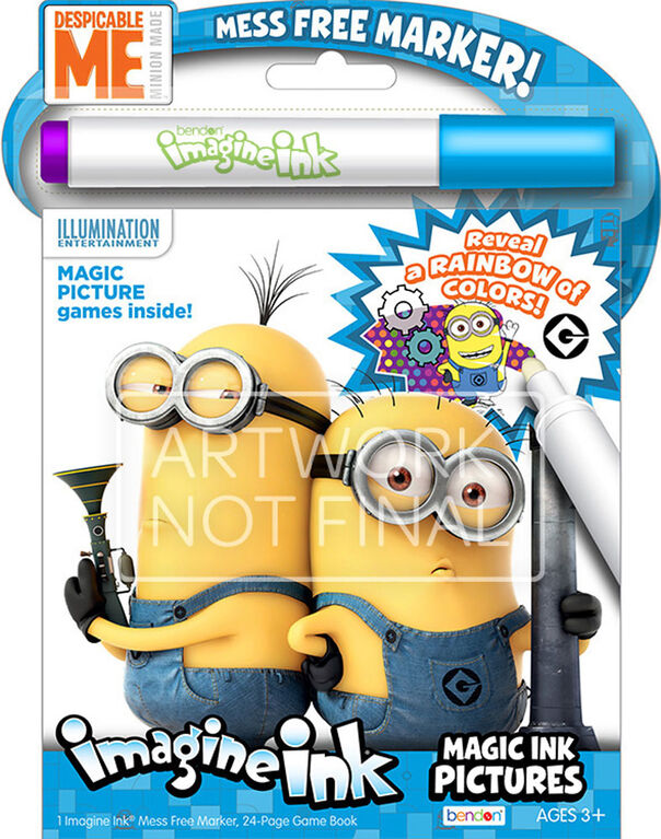 Minions Rise Of Gru Imagine Ink - English Edition