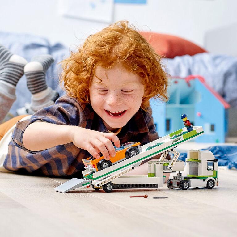 LEGO City Great Vehicles Le transport de voiture 60305