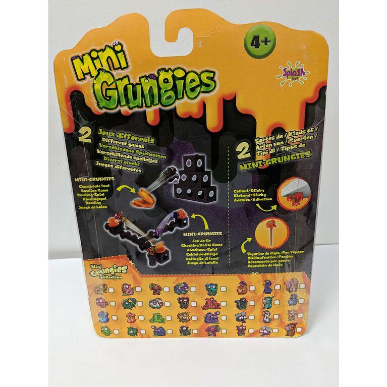 Mini Grungies - Pack famille.