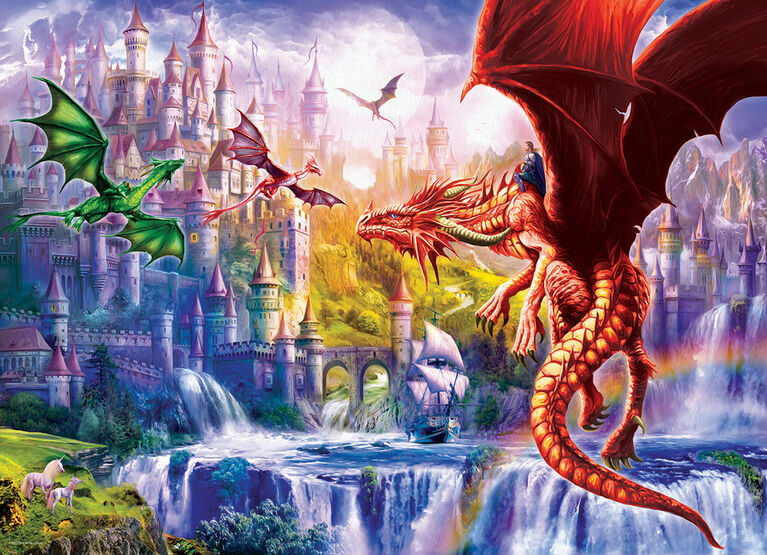 Eurographics Dragon Kingdom Oversize 500 PC Puzzle