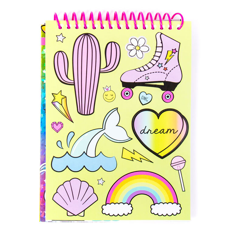 Make It Mine Sticker Book - Colours and styles may vary - R Exclusive