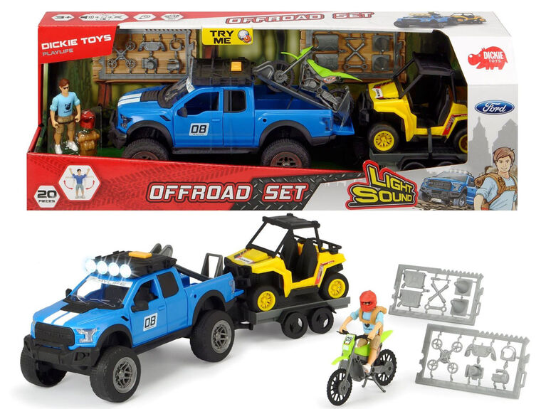 Playlife - Ensemble Offroad - Dickie Toys.