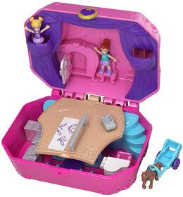 Polly Pocket - Pocket World - Micro-Polly et Micro-Lila - Coffret Calèche.