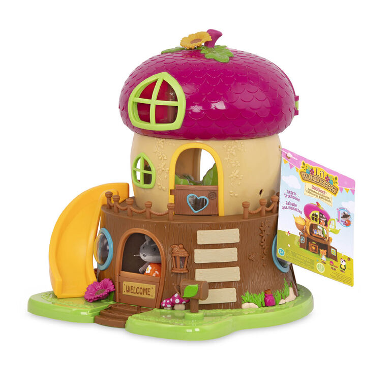 Li'l Woodzeez, Acorn Treehouse with Bobblehead Character