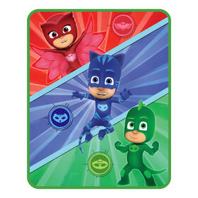 "PJ Masks ""Power Up"" Silk Touch Throw"