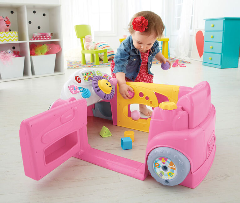 Fisher-Price Laugh & Learn Crawl Around Car - English Edition