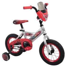 Vélo de 12'''''''' (30 cm) Les Bagnoles de Disney Pixar par Huffy.