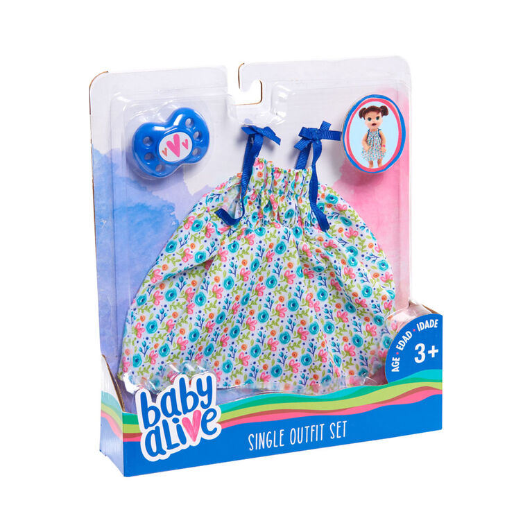 Ensemble d'Habits Uniques Baby Alive - Robe