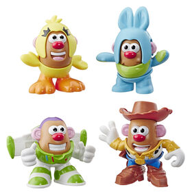 Mr Potato Head Disney/Pixar Toy Story Mini 4 Pack