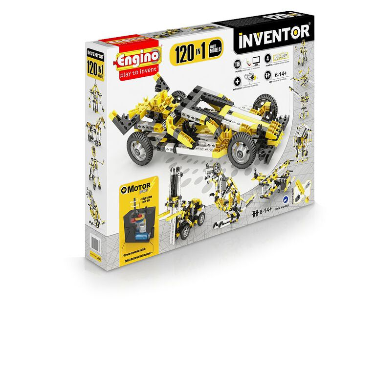 Engino - Inventor 120 Models Motorized Set