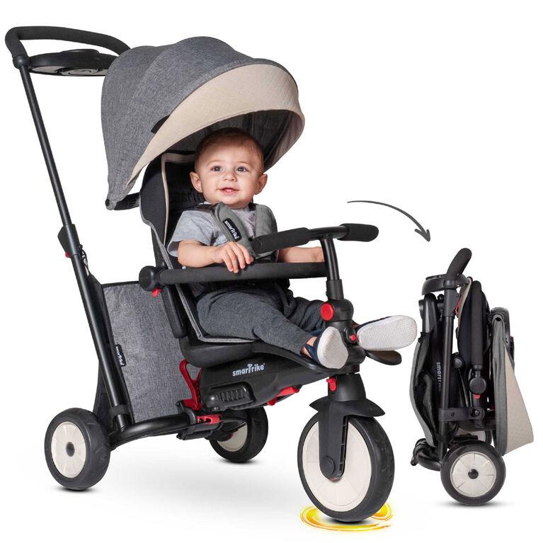 smarTrike STR5 - Folding Stroller Trike - Melange Grey