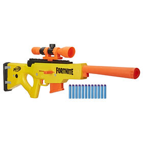 Nerf Fortnite BASR-L Bolt Action, Clip Fed Blaster
