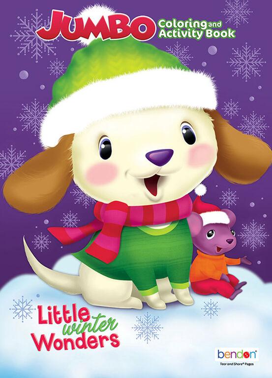 Holiday Jumbo Coloring Books - English Edition