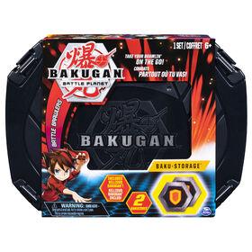 Bakugan, Baku-storage Case (Black) for Bakugan Collectible Creatures