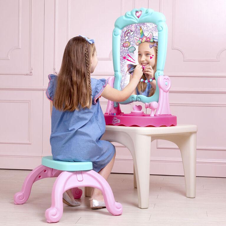 Grow'n Up FabStudio Chevalet de miroir 3 en 1