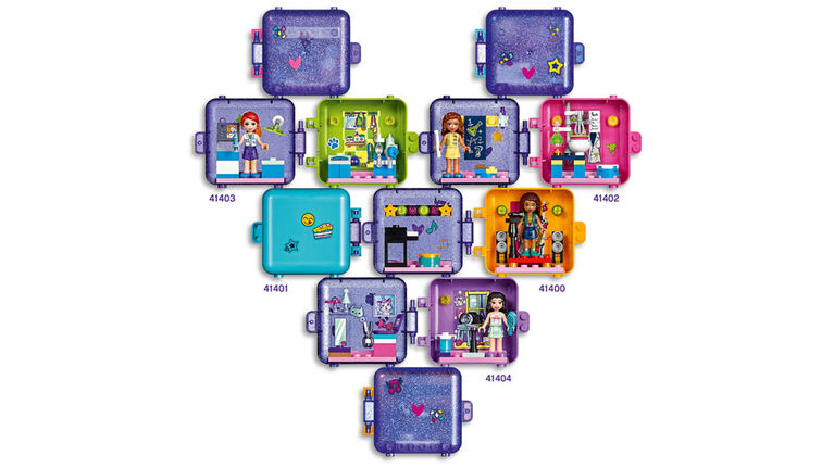LEGO Friends Stephanie's Play Cube 41401