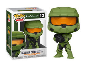 Funko POP! Games: Halo - Master Chief with MA-40 Assault Rifle