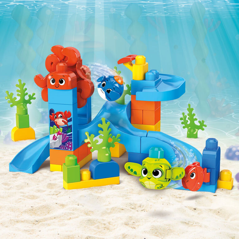 Mega Bloks - Peek A Blocks - Parc Aquatique