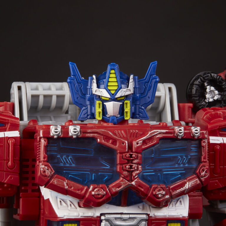 Transformers Generations War for Cybertron Leader WFC-S40 Galaxy Upgrade Optimus Prime