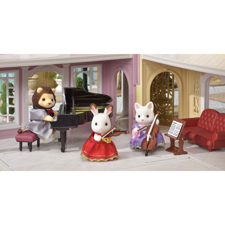 Calico Critters Town Series Violin Concert Set