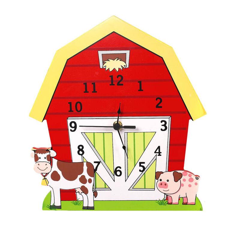Fantasy Fields - Horloge murale « La ferme du bonheur »