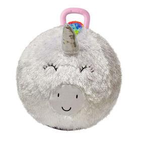 Ballon-Sauteur En Peluche Licorne