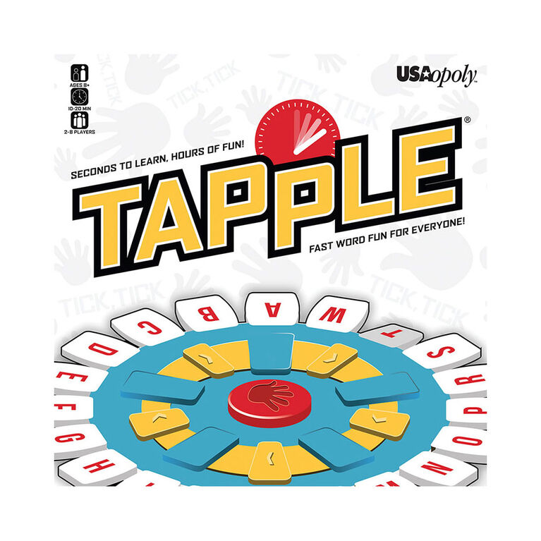 Tapple Game - Fast Word Fun for the Whole Family!
