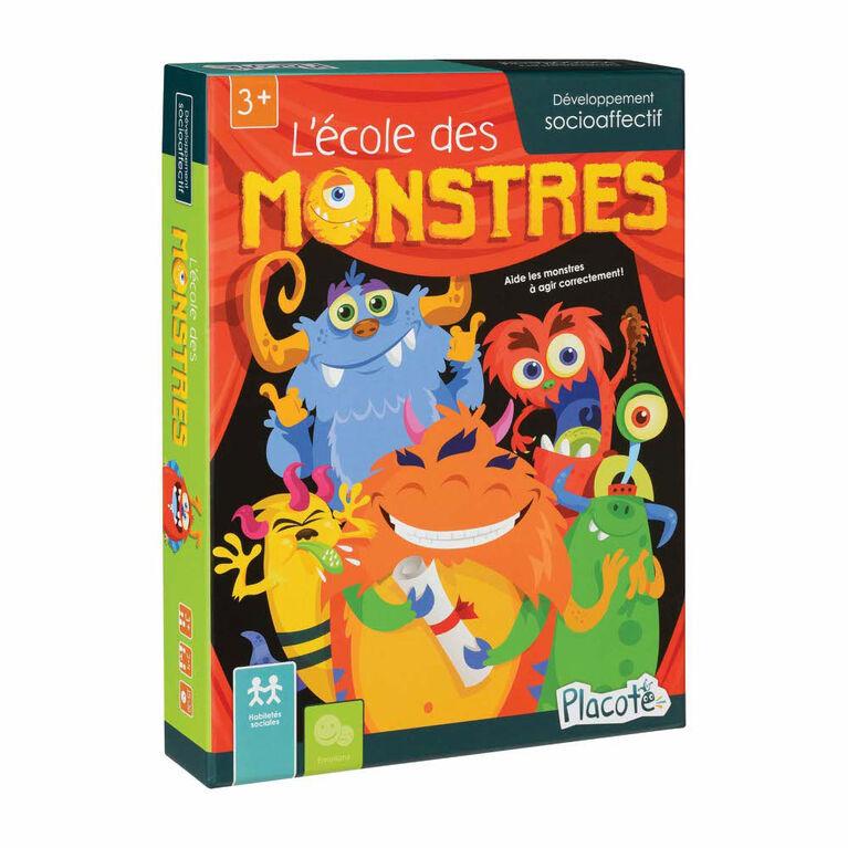 L'École des Monstres - Placote - jeu éducatif - Édition française