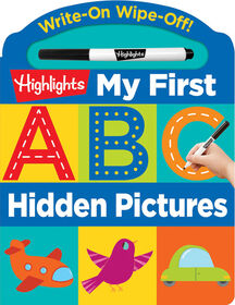 Highlights My First Write-On Wipe-Off Board Books - Édition anglaise