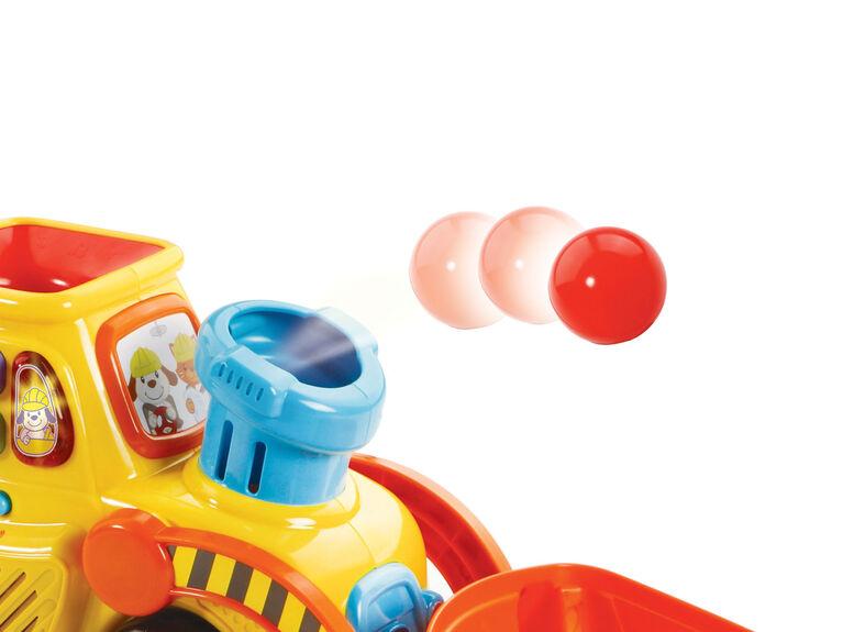 Pop-a-Balls Push & Pop Bulldozer - French Edition