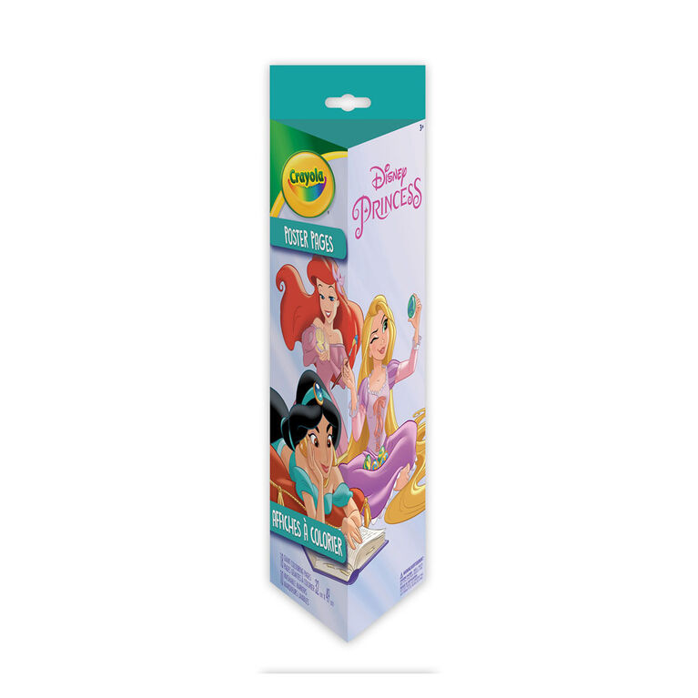 Crayola Poster Pages & Markers Set, Disney Princess