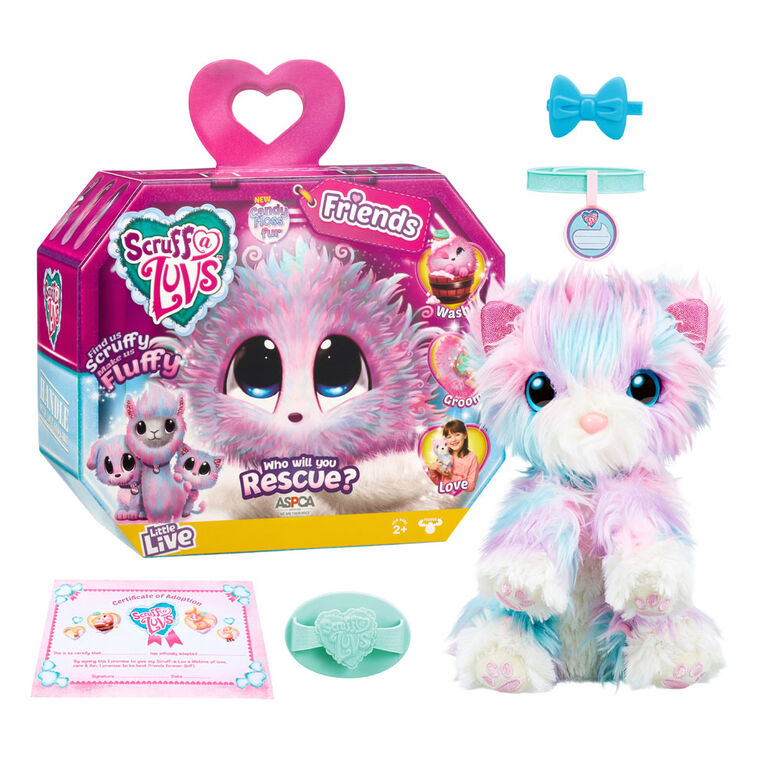 Little Live Scruff-a-Luv Candy Floss