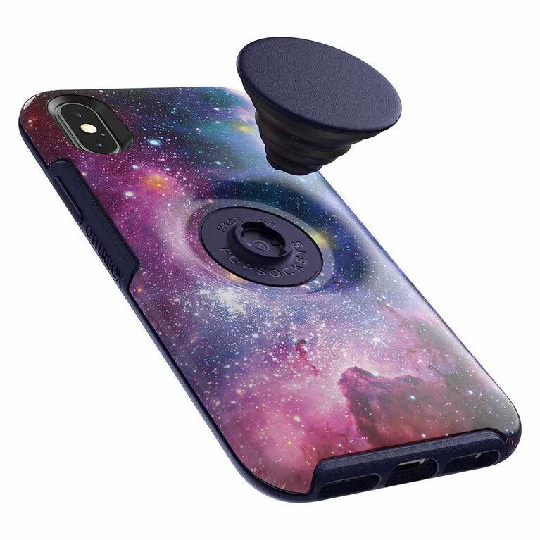 Otterbox Otter+Pop Symmetry iPhone XS Blue Nebula