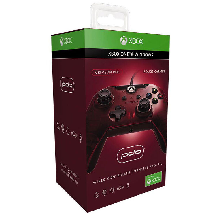 Xbox One Controller Wired Red