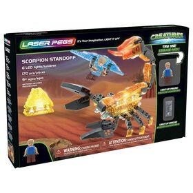 Laser Pegs, Collection Créatures - Face-à-face avec un Scorpion 170 pièces.