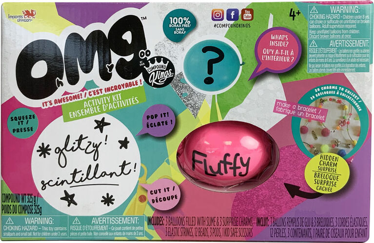 OMG - 3 Pack - Fluffy - R Exclusive