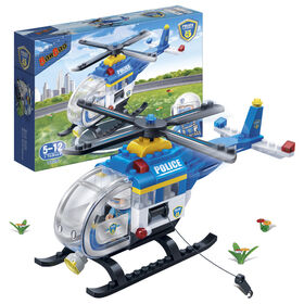 BanBao - Hélicoptère Police (7008).