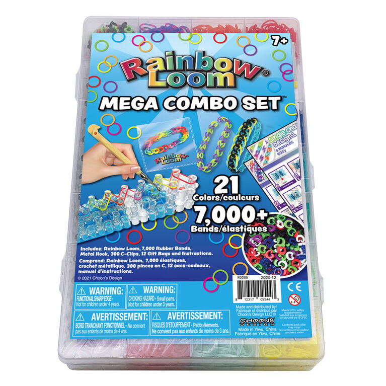 Ensemble Méga Combo Rainbow Loom