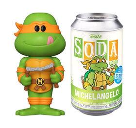 Figurine en Vinyle Michaelangelo par Funko SODA Teenage Mutant Ninja Turtles
