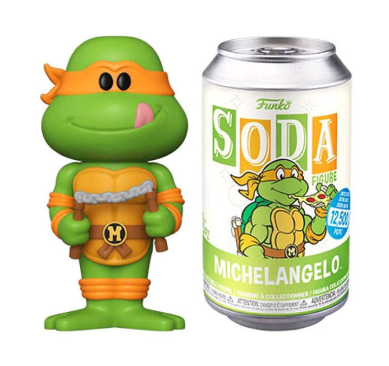 Funko SODA TV: Teenage Mutant Ninja Turtles - Michaelangelo