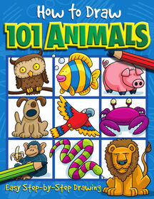 How To Draw 101 Animals - Édition anglaise